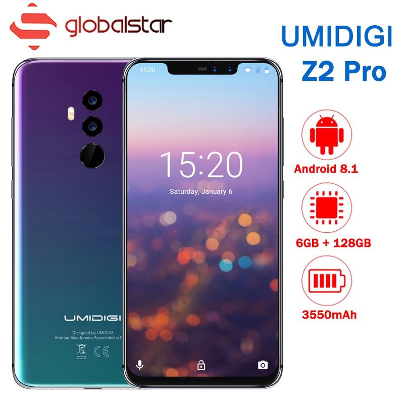 UMIDIGI Z2 Pro FHD + Schermo Intero 6 gb di RAM 128 ROM Del Telefono Mobile Helio P60 Octa Core 6.2