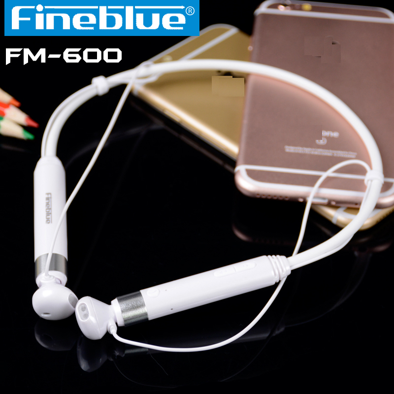 2016 Fineblue FM600 Wireless NFC Auriculares Bluetooth Stereo Headset Earphone Anti Lost