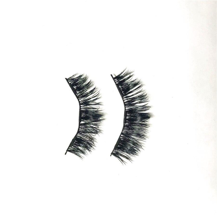 Tesoura de Maquiagem pestanas falsas eye lashes cílios Tipos de Cílios Postiços : Chicotes Completos