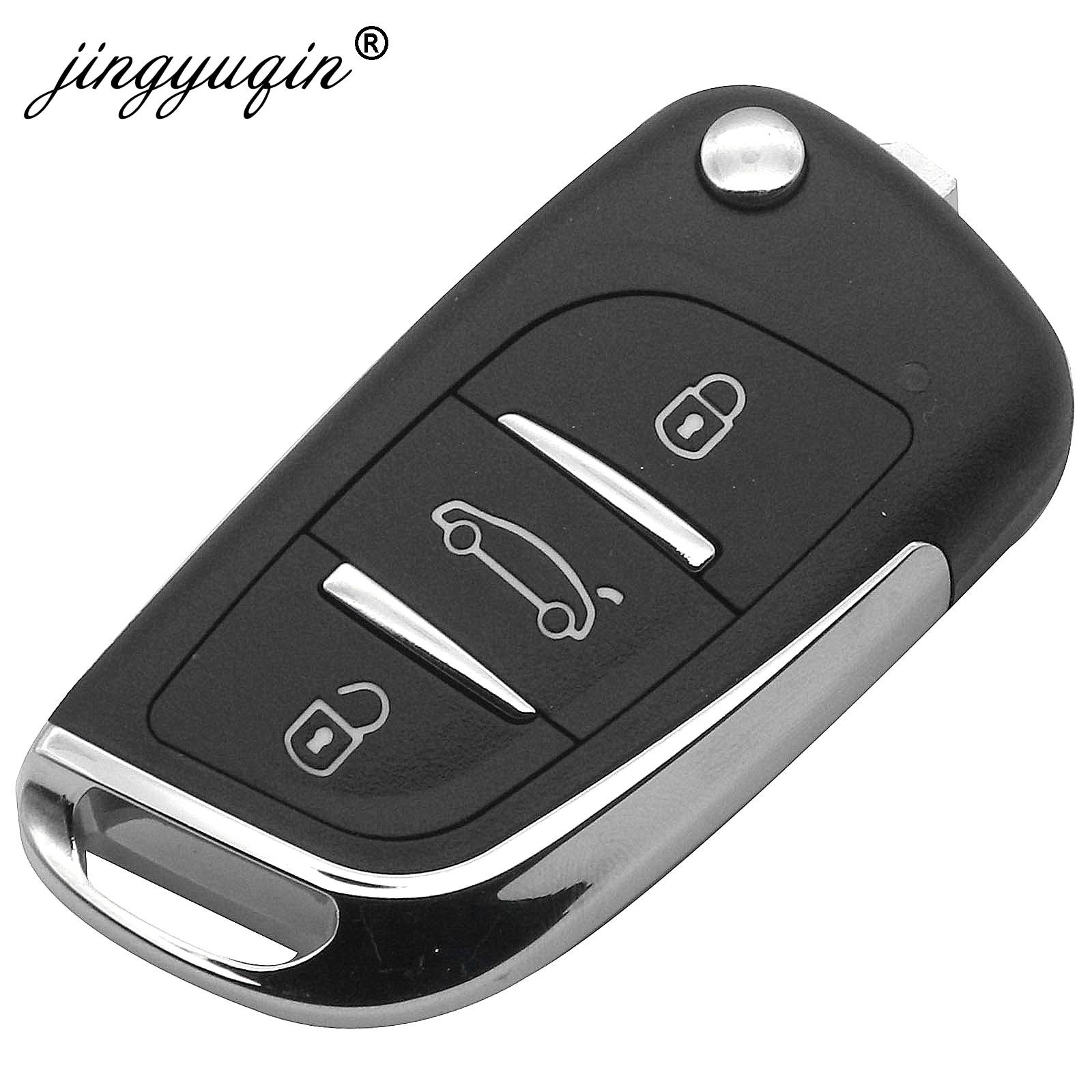 jingyuqin 5Pcs Lot KD900 KD900 KD200 URG200 Mini KD KD X2 Remote Control 3 Button Key