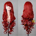 Hot Sell Lolita Cosplay Full Lace Women Wigs Long Wavy Synthetic Hair 32inch Perruque Multi-color Hairpieces For Stage/Party