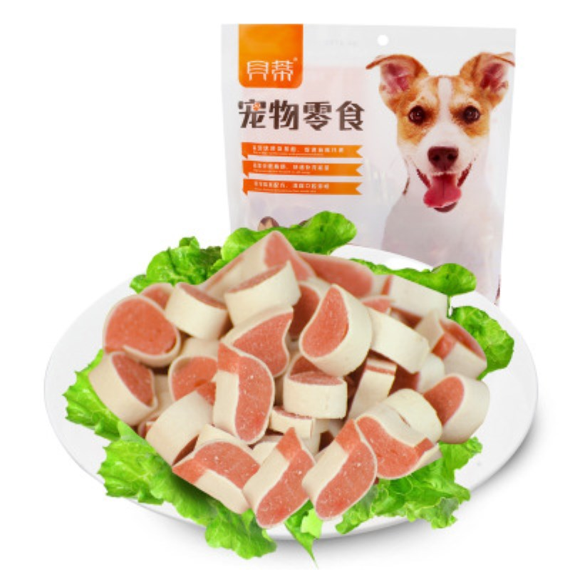 Cat dog food sandwich chicken squid sushi grain 400g cat food training supplement nutrition strong bone cleaning teeth pet food image