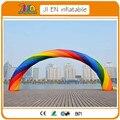 20ft * 12ft D = 6 М надувные Радуги арка для Рекламы/Праздничные Атрибуты/Event Decorations. воздуходувки 110 В/220 В