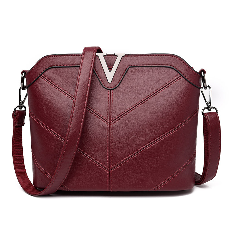 High Quality Women Leather Messenger Bags Fashion Women Crossbody Bag Ladies Shoulder Bag Female Totes Handbags Bolsas Femininas bailar fashion women shoulder handbags messenger bags button rivets totes high quality pu leather crossbody famous brand bag