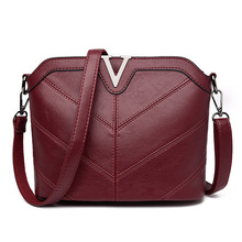 Hohe Qualität Frauen Leder Messenger Bags Fashion Damen Crossbody Tasche Damen Schultertasche Weibliche Totes Handtaschen Bolsas Femininas