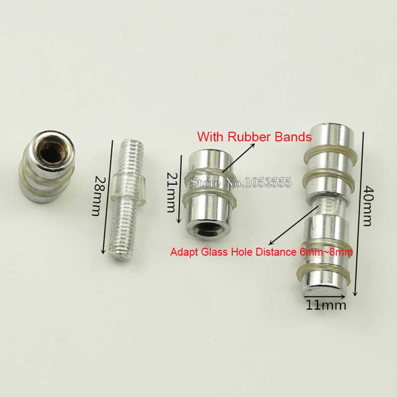 20 PCS/lot Perak Tone Logam Rak Dukungan Furniture Lemari Hardware Pemegang Pin Rak Pasak Mendukung Ganda Kepala Desain K309/2