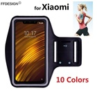 Чехол для повязки на руку Чехол Xiaomi Pocophone F1 Mi Mix 3 2s 2 Mi 9 8 Lite SE Mi A2 Lite A1 Спорт ①