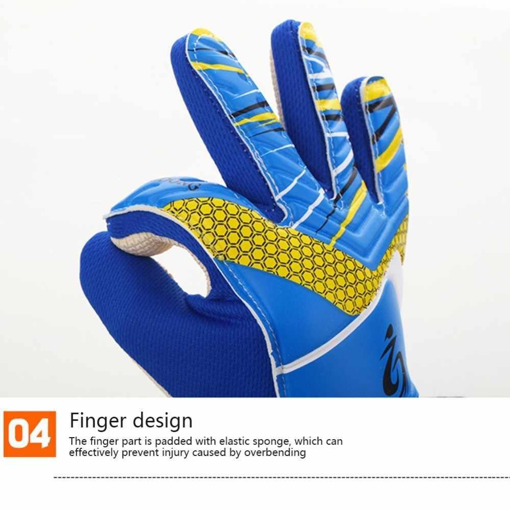 ... Kid s Soccer Goalkeeper Gloves guantes de portero for Children 5-16 Years  Old Soft Goalkeeper ... e603addb4
