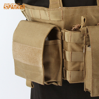 Military Airsoft Molle Ammo Bags EDC Pouches Utility Tool Pack 1000D M4 Series Magazine Storage Pouch