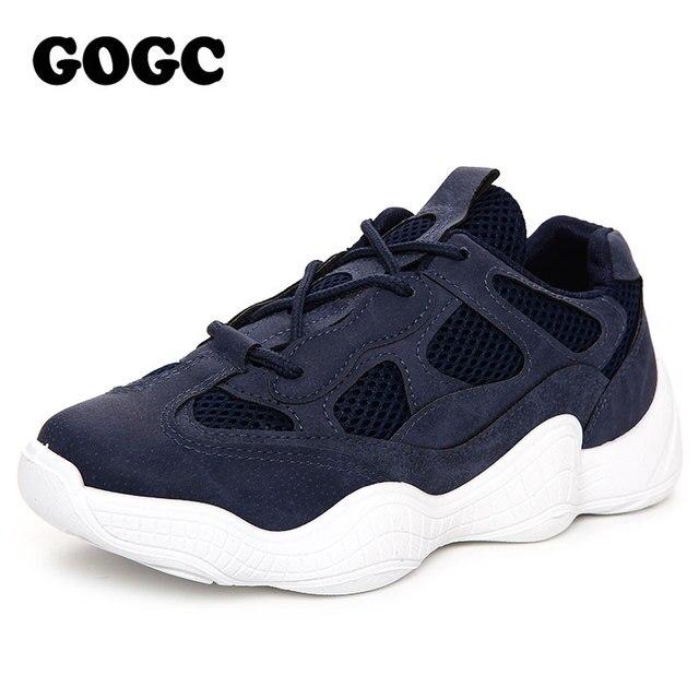 GOGC kadın ayakkabı kadın düz ayakkabı kadın eğitmenler ayakkabı platformu spor ayakkabılar Rahat loafer ayakkabılar tenis koşu ayakkabıları G653