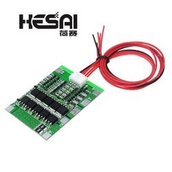 4S 30A 14,8 V литий-ионный аккумулятор 18650 BMS пакеты PCB Защитная плата баланс интегральные схемы электронный модуль