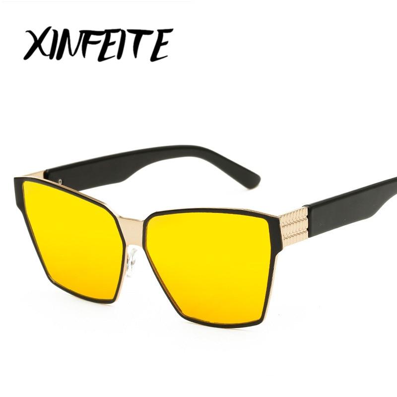 cca9e86376079 XINFEITE 2017 Brand Designer Women Sunglasses Polarized Coating Mirror Lens  Male oculos Vintage Sun Glasses Eyewear For Men
