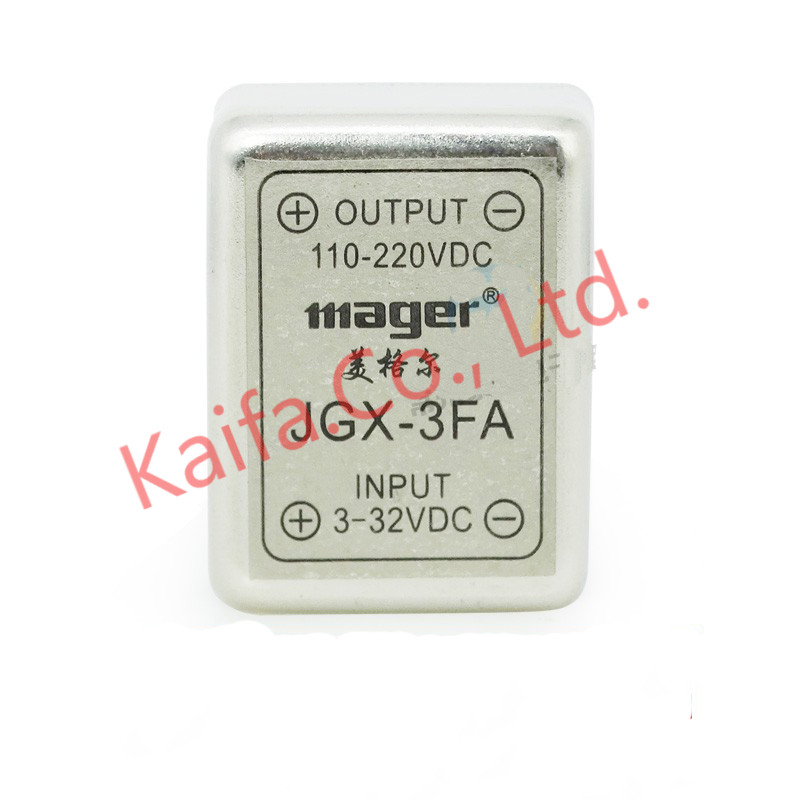 Mager Mini 2pcs/lots 3A 24V SSR PCB single phase solid state relay DC control DC JGX 3FA DC-DC  DIP normally open single phase solid state relay ssr mgr 1 d48120 120a control dc ac 24 480v