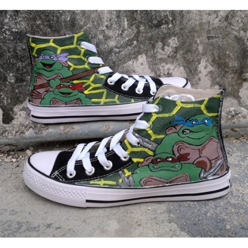 b2a952ffc7 ... customize age mutant ninja turtles tmnt hand painted casual  toddler  boys shoes ...