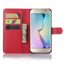 hot deal buy luxury flip leather cover case for samsung galaxy s6 edge plus g928 g928f 5.7 inch protective shell wallet style with card slot