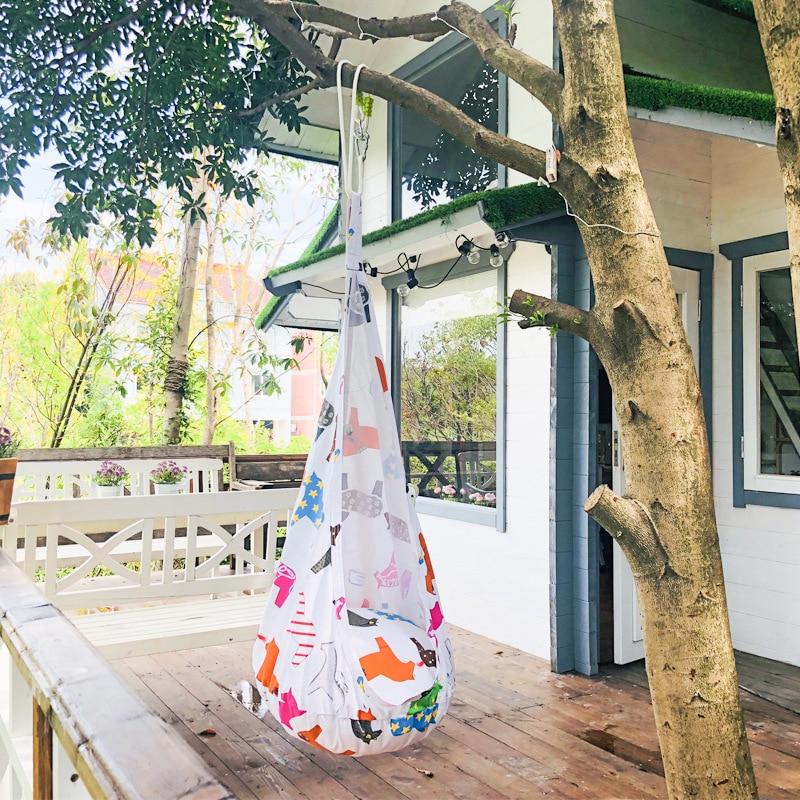 Sécurité enfants coussin gonflable siège balançoire chaise berçante berceau bébé hamac extérieur intérieur chaise suspendue pour enfant adulte