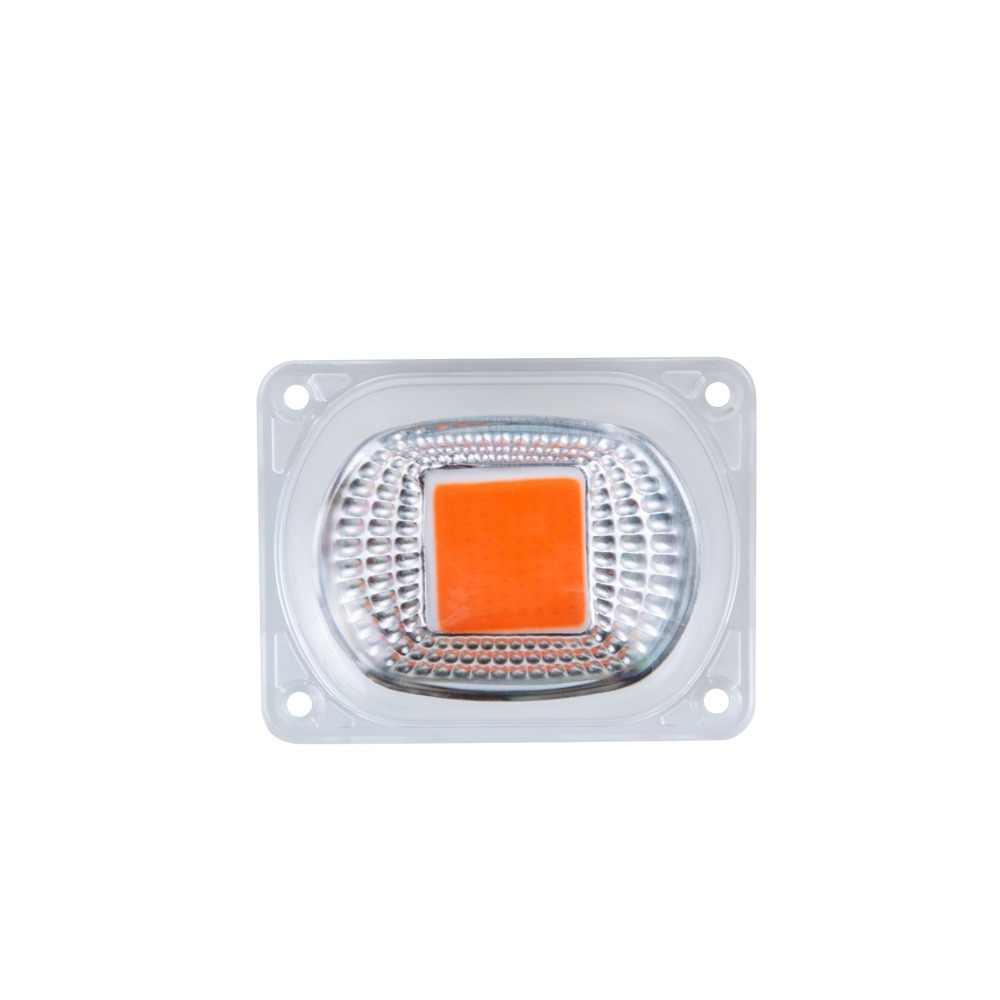 LED Grow Phyto Lamps With Lens Reflector 20W 30W 50W 110V 220V COB LED Chip Full Spectrum Grow Light Floodlight Spotlight Bulb