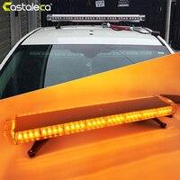 Castaleca автомобиля дорожного движения Предупреждение мигает сигнал свет крыши грузовика 72 светодиодный аварийного Строб Противотуманные фа
