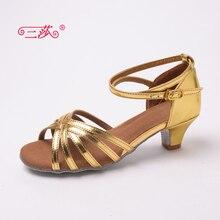Sasha direct selling professional High Quality Latin Dance Shoes Economic Shoes Ballroom Salsa Tango dance shoes kids 201