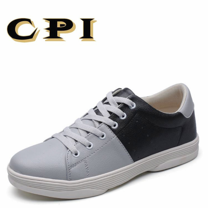 CPI autumn New Men's casual shoes sneakers shallow Fashion design Walking shoes Comfortable Breathable men shoes CC-74 2017 new autumn winter british retro men shoes zipper leather breathable sneaker fashion boots men casual shoes handmade