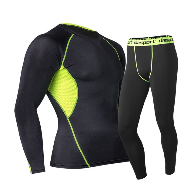 Long Johns Winter Thermal Underwear Sets Men Brand Quick Dry Anti-microbial Stretch 2018 Men's Thermo Underwear Male Spring Warm