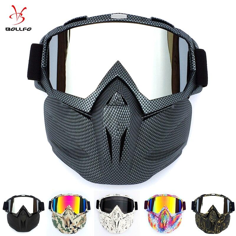 Radfahren Helm Goggle Maske Carbon Stil Tough Guy Männer Design Atmungsaktive Racing ATV Reiten Auge Tragen winddicht Okular