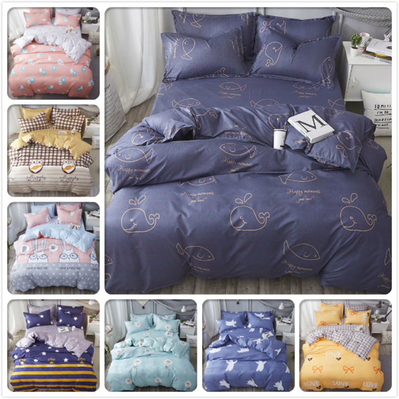 Solar Double Big Size King Queen Full Twin Single Duvet Cover Bedding Set 3pcs/4pcs Bed Linens Kids Child Bedlinen Soft Cotton 200x230