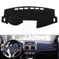 Fit For Toyota YARiS L 2014 2016 Car Dashboard Cover Avoid Light Pad Instrument Platform Dash