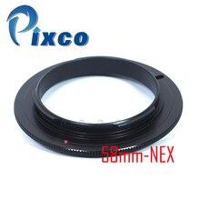 Pixco 49mm 52mm 55mm 58mm lentille Macro anneau adaptateur inverse pour Sony E monture NEX caméra