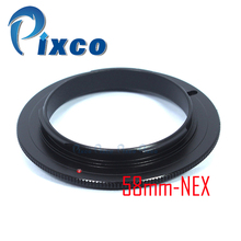 Pixco 49mm 52mm 55mm 58mm obiektyw odwrotny adaptera makro pierścień do kamery Sony E Mount NEX