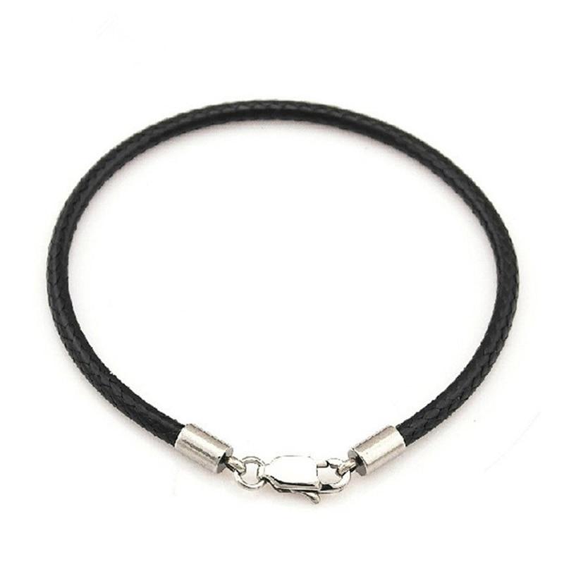 Μόδα κλασικό σχοινί σχοινί μαύρο - Κοσμήματα μόδας - Φωτογραφία 2