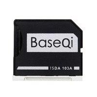 BASEQI Aluminum MiniDrive Micro SD Card Adapter Memory Card Reader For Macbook Air 13 Model 103A