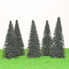 S0404 сосновая модель поезд деревья кедр железная дорога расположение пейзажей HO OO Масштаб