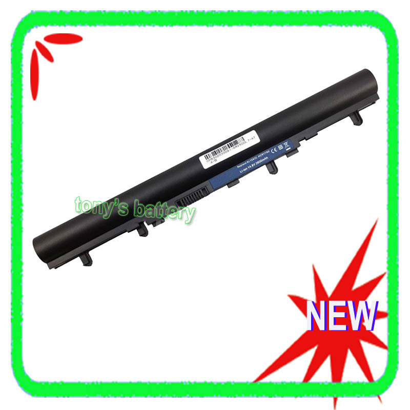 4Cell Laptop Battery For Acer Aspire E1 E1-532 E1-532P E1-432G E1-570 E1-572 E1-572P E1-572G E1-422 E1-522 original new al12b32 laptop battery for acer aspire one 725 756 v5 171 b113 b113m al12x32 al12a31 al12b31 al12b32 2500mah