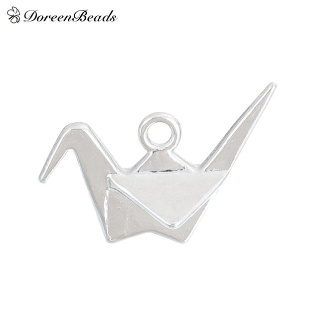 Doreenbeads alloy 3d charms pendants origami crane dull silver doreenbeads alloy 3d charms pendants origami crane dull silver color 27mm1 18 mozeypictures Choice Image