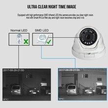 KingCam 2.8mm Lens Wide Angle Metal POE IP Camera 1080P 960P