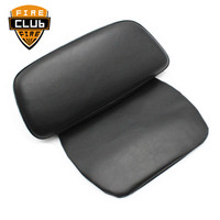 Razor Chopped Backrest Pad Motorcycle Black Tour Pak Pack Backrest For Harley Touring Road Glide 2014 2015 2016 2017 2018