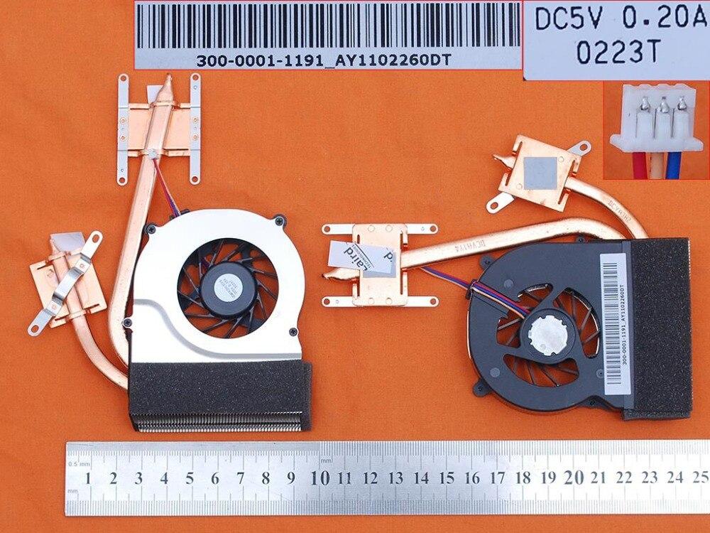 Marca portátil ventilador para SONY para VAIO VPC-CW serie PN: UDQFRZH13CF0 CPU Cooler/radiador