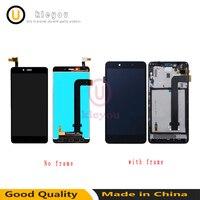 LCD Digitizer Display Frame For Xiaomi Redmi Note 2 Touch Screen Panel LCD Display Redmi Note
