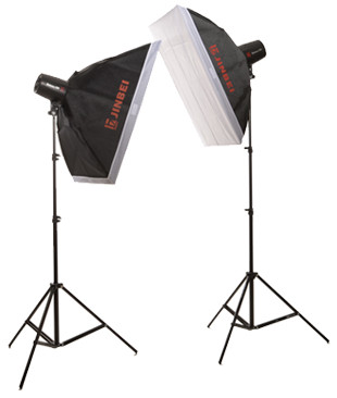 купить Jinbei 200 W Photo Studio LED Continuous Light kit, Photographic Equipment flash lamp photography lighting photographic set CD50 недорого