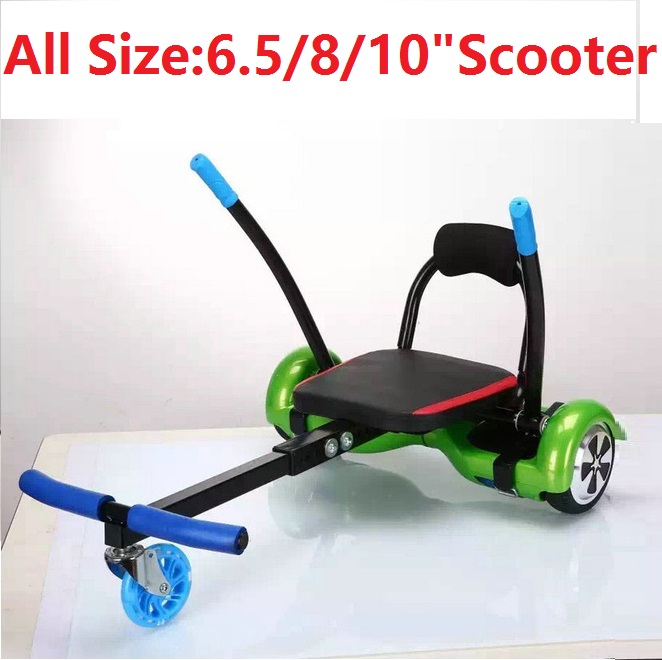 Hoverboard parts kart 2 Wheel Electric Scooters part seat Smart Balance Hoverboard cart Self Balancing Scooter parts 8 inch hoverboard 2 wheel led light electric hoverboard scooter self balance remote bluetooth smart electric skateboard