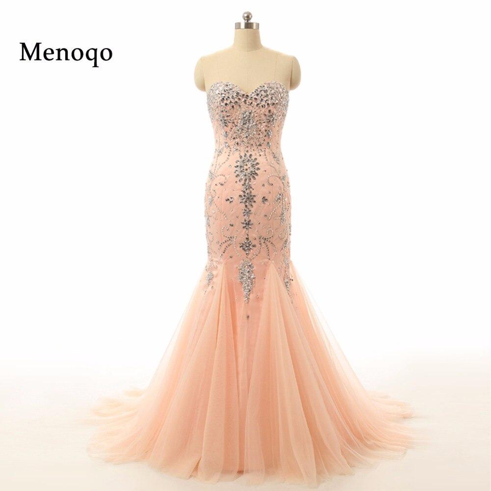 Real Model Evening Dress High Quality Sweetheart Beaded vestidos de fiesta Prom Evening Gown Long Mermaid