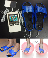 Free Shipping Electronic Massager Slippers Digital Therapy Machine Foot Shoes Massage Machine Health Care Products