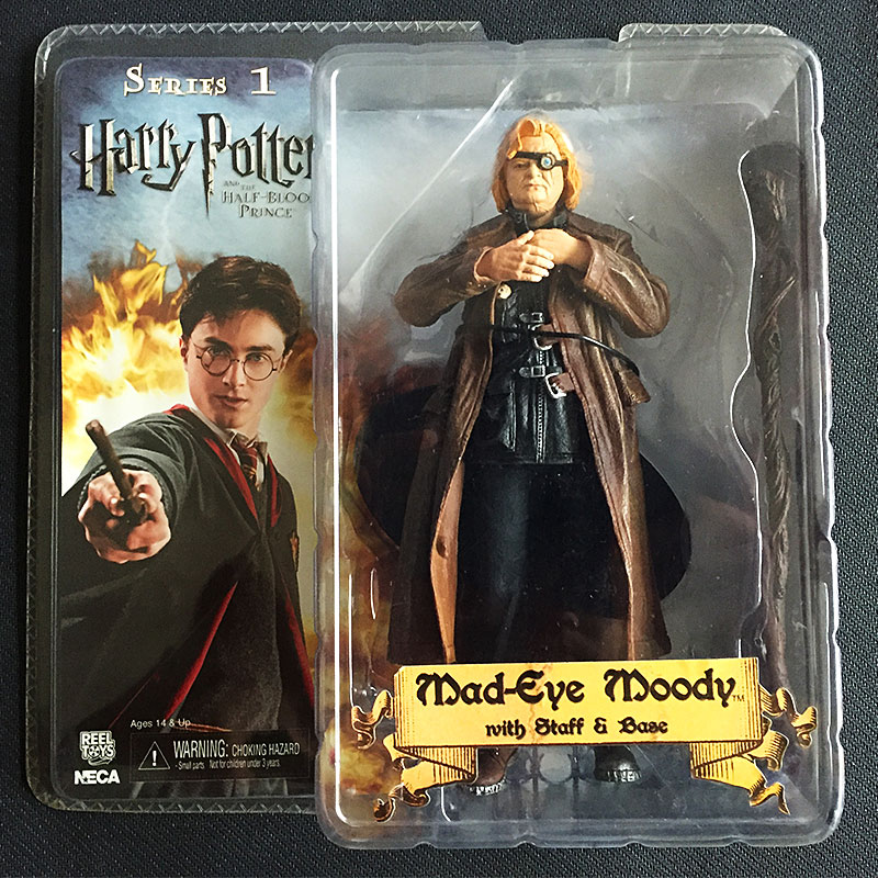 NECA Harry Potter Mad Eye Alastor Moody New Boxed Action Figure Model Decoration 7 Inch S154 devil may cry ultimate dante 7 action figure neca alastor instock ne031001
