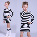 Girls Dresses 3 4 5 6 7 8 9 10 11 12 Years Spring Autumn Long Sleeve Stripe Dresses For Girls Clothes 2016 Baby Toddler Clothing