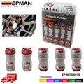 M12 X1.5 EPMAN AUTÉNTICO ACORN RIM Racing Tuercas de la Rueda Tornillo 20 UNIDS COCHE Para Toyota EP-NU7000-1.5