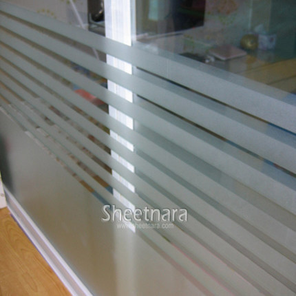 600cm long Electrostatic no glue film frosted glass sliding door windows Crystal Garden flowers thick translucent sticker decals