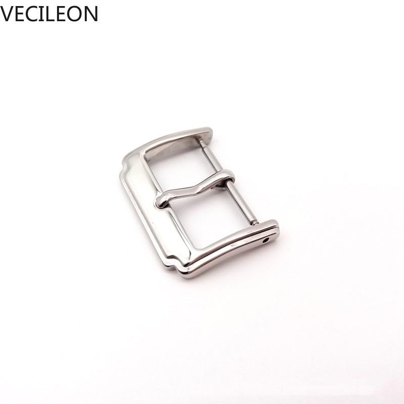 IWC pin buckle steel 16 mm polished