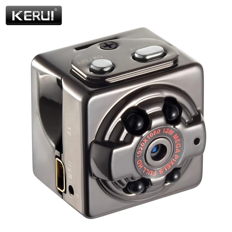 KERUI 1080P Mini Camera Infrared IR Night Vision DVR DV Mini Cam Motion Recording Voice Video Mini Camcorders SQ8 Mini Camera