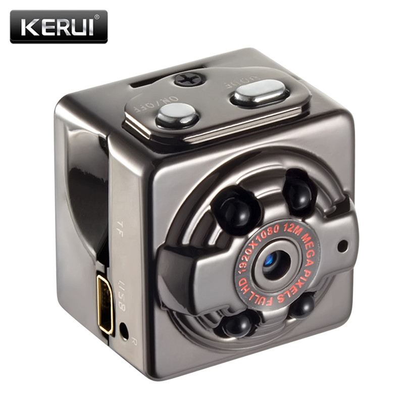 KERUI 1080P Mini Camera Infrared IR Night Vision DVR DV Mini Cam Motion Recording Voice Video Mini Camcorders SQ8 Mini Camera